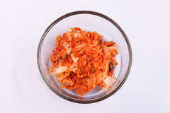 Kimchi kimchee. Kimchee or kimchi is a  Korean fremented vegetable usually served as a side dish with the meal Royalty Free Stock Photo