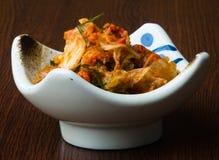 Kimchi. kimchi on the background Royalty Free Stock Photo