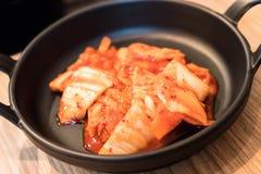 Kimchi (Korean food) Royalty Free Stock Photos