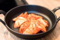 Kimchi (Korean food) Stock Image