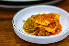 Kimchi, korean food traditional Royalty Free Stock Photos