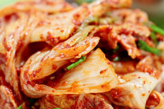 Kimchi (Korean traditional food) with selected focus, Royalty Free Stock Photos