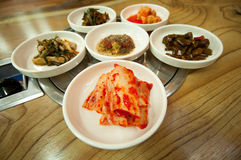 Kimchi korean traditional foods Royalty Free Stock Photo