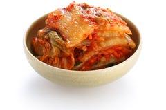 Kimchi, koreanische Nahrung Stockbild