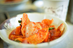 Kimchi local food in korea Royalty Free Stock Photo