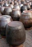 Kimchi pots Stock Images