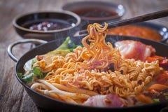 Kimchi ramen Stock Images
