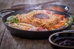 Kimchi ramen Royalty Free Stock Photo
