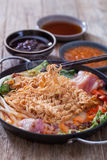 Kimchi ramen Royalty Free Stock Photos