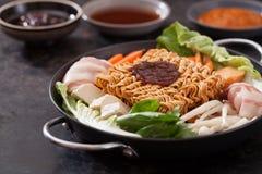 Kimchi ramen Stock Photos