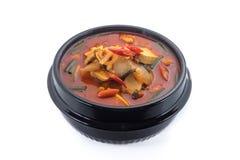 Kimchi stew, kimchi chigae, korean cuisine, kimchi soup Stock Photos