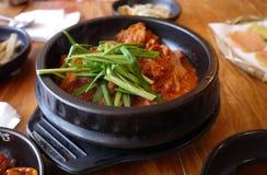 Kimchi tradizionale dell'alimento, Corea Immagine Stock Libera da Diritti