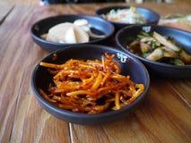 Kimchi tradizionale dell'alimento, Corea fotografia stock libera da diritti