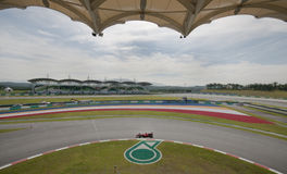 Kimi 2009 Raikkonen no Malaysian F1 Prix grande Imagem de Stock