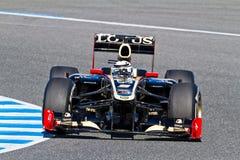 kimi 2012 lotosu f1 raikkonen Renault drużyny Zdjęcia Stock