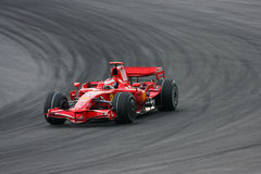 Kimi Raikkonen, équipe de Scuderia Ferrari Malboro F1 Photographie stock libre de droits