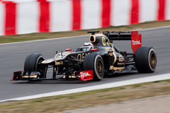 Kimi Raikkonen - ομάδα Lotus F1 - F1 2012 Στοκ εικόνες με δικαίωμα ελεύθερης χρήσης