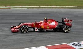 Kimi Raikkonen av Ferrari Royaltyfri Foto