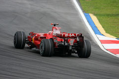 Kimi Raikkonen, equipe de Scuderia Ferrari Malboro F1 Imagens de Stock Royalty Free