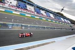 Kimi Raikkonen Ferrari 2015 Imagenes de archivo