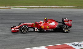 Kimi Raikkonen of Ferrari Royalty Free Stock Photo