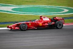 Kimi Raikkonen, het team van Scuderia Ferrari Malboro F1 Royalty-vrije Stock Afbeelding