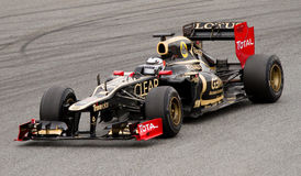 Kimi Raikkonen (Lotus) Royalty Free Stock Photos
