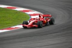 Kimi Raikkonen, personas de Scuderia Ferrari Malboro F1 Fotografía de archivo