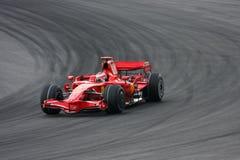 Kimi Raikkonen, squadra di Scuderia Ferrari Malboro F1 Fotografia Stock Libera da Diritti