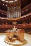 Kimmel Center, Verizon Hall, Philadelphia. The Dobson pipe organ in Verizon Hall Royalty Free Stock Images
