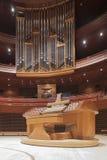 Kimmel Center, Verizon Hall, Philadelphia. The Dobson pipe organ in Verizon Hall Royalty Free Stock Photos