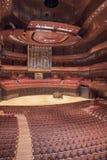 Kimmel Center, Verizon Hall, Philadelphia. The Dobson pipe organ in Verizon Hall Stock Photos