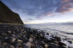 Kimmeridge海湾在多西特 免版税图库摄影
