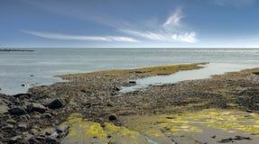 Kimmeridge海湾多西特英国 免版税库存照片