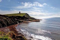 Kimmeridge Bay and Clavell Tower Stock Photo