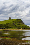 Kimmeridge bay with Clavell Tower. Kimmeridge Bay is in the Isle of Purbeck on the Dorset Coast, England, United Kingdom. It is dominated by Clavell Tower Royalty Free Stock Photography