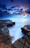 Kimmeridge bay Dorset Royalty Free Stock Images