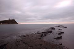 Kimmeridge bay Stock Image