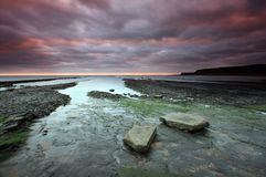 Kimmeridge bay Royalty Free Stock Photos