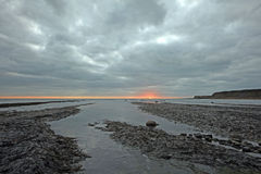 Kimmeridge bay Royalty Free Stock Images