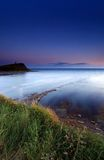 Kimmeridge Bay England sunset Royalty Free Stock Photos