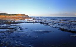 Kimmeridge Bay jurrasic coast Royalty Free Stock Photo