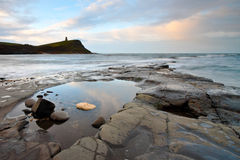 Kimmeridge Rock Pool Royalty Free Stock Photo