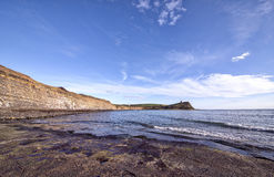 Kimmeridge Schacht in Dorset Lizenzfreies Stockfoto