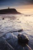 Kimmeridge-Sonnenuntergang Lizenzfreies Stockbild
