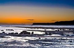 Kimmeridge sunset Stock Images