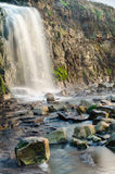 Kimmeridge waterfall Royalty Free Stock Photo