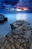 Kimmeridge zatoka Dorset Obraz Royalty Free