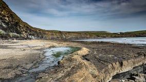 Kimmeridge zatoka Dorset, UK fotografia royalty free