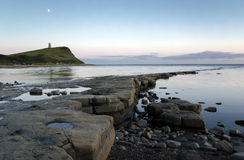 Kimmeridge zatoka W Dorset Obraz Royalty Free